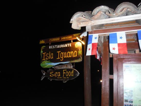 Restaurante Isla Iguana Bild
