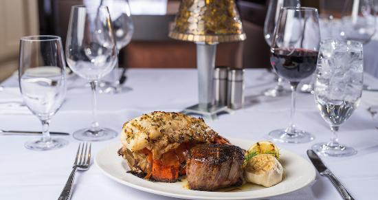 Florence, IN: Filet and Lobster