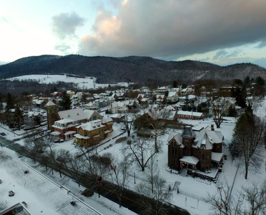 Bellefonte in the Snow
