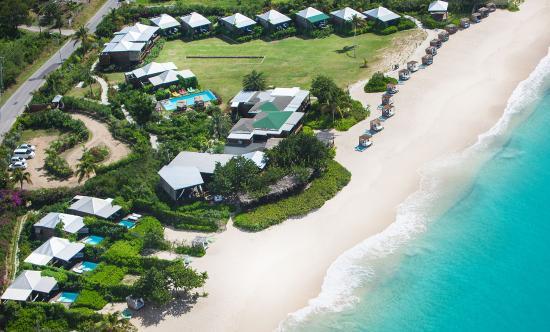 Keyonna Beach Resort Antigua: Aerial Shot of Keyonna Beach