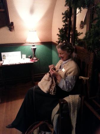 Surrey, كندا: Knitting
