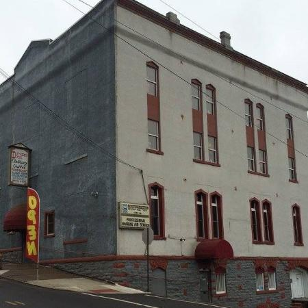 Pittston, PA: Front of Building