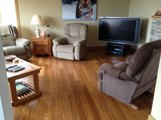Wiarton, Canadá: Livingroom