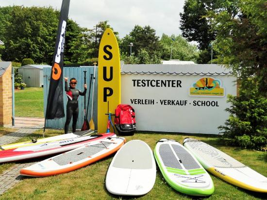 SUP Testcenter in Wiek