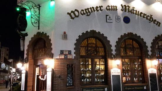 Wagner am Maeuerchen