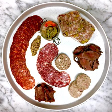Concord, MA: House Made Charcuterie from our own Tamworths
