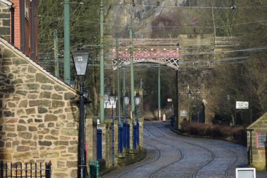 Matlock, UK: Tram tracks