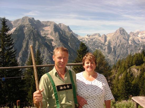 Hinterstoder, Österrike: Willkommen im Landhaus Bürtlmair bei Maria und Ferdinand