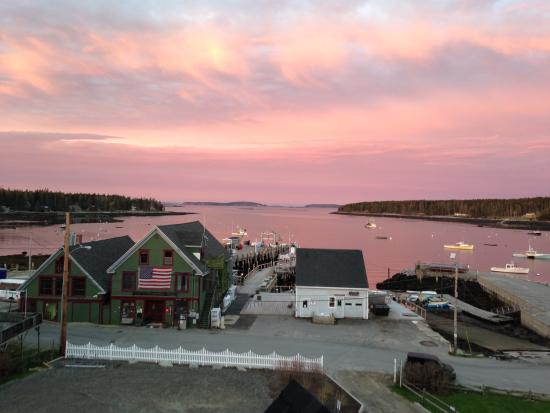 Port Clyde, ME: Sunrise View From Cupola