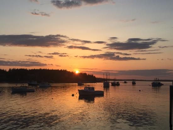Port Clyde, ME: Spring Sunset