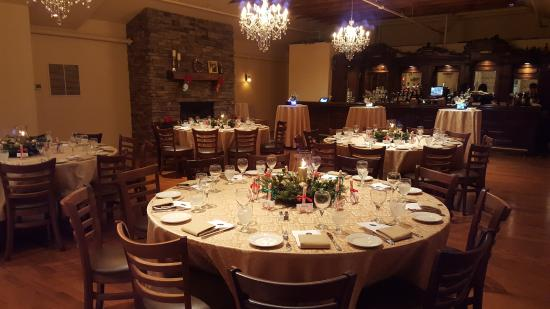 Conshohocken, PA: Beautiful Banquet Room can host up to 85 guests!