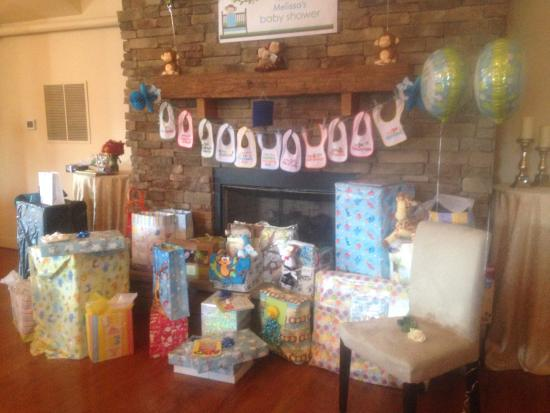 Conshohocken, PA: Baby Shower in the upstairs banquet room