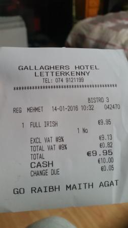 Gallaghers Hotel Photo