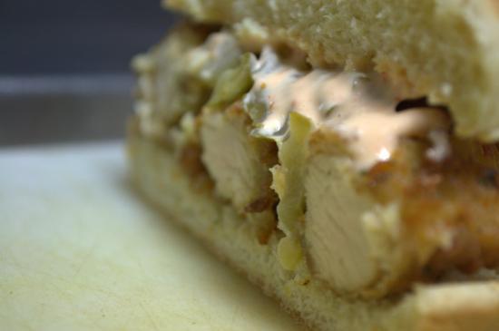 Buena Vista, VA: Not Yo Mamma's Chicken Sandwich