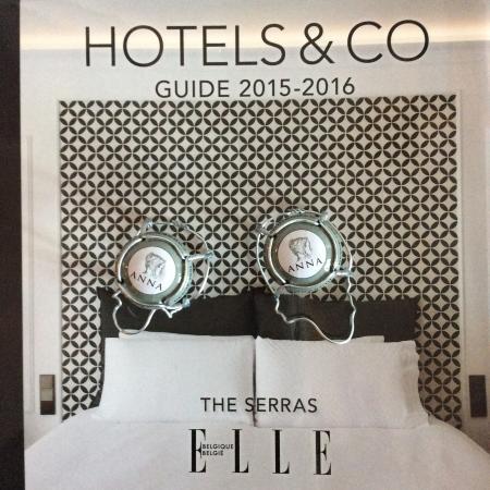 elle hotel guide bild fr n hotel the serras barcelona. Black Bedroom Furniture Sets. Home Design Ideas
