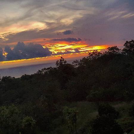 Holualoa, HI: Sunset
