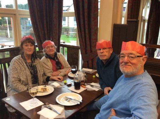 Woolsington, UK: Festive Guests