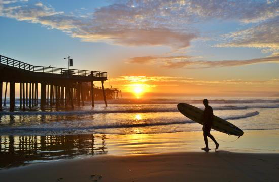 Pismo Beach, CA: Classic California