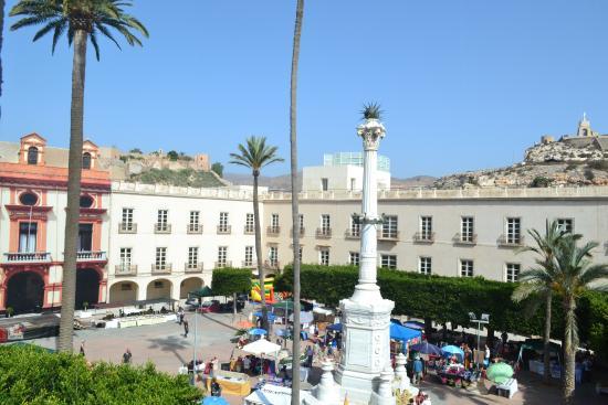 Vista Desde La Terraza Picture Of Aire Hotel Ancient Baths Almeria