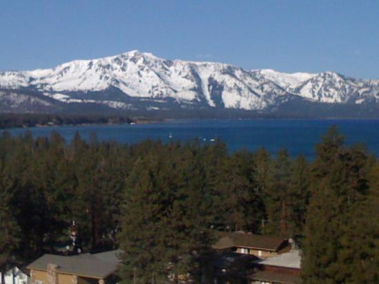 South Lake Tahoe Ca View From Harveys Hotel Room