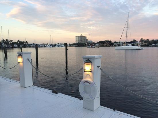 The Pillars Hotel Fort Lauderdale: Breathtaking breakfast view.