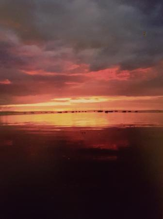 Skerries, أيرلندا: Sunset from Harbour