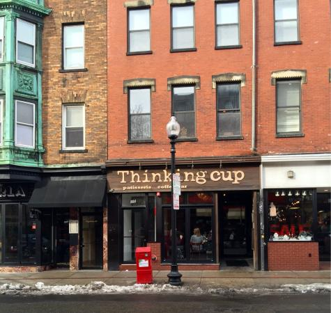 Thinking Cup: Street view