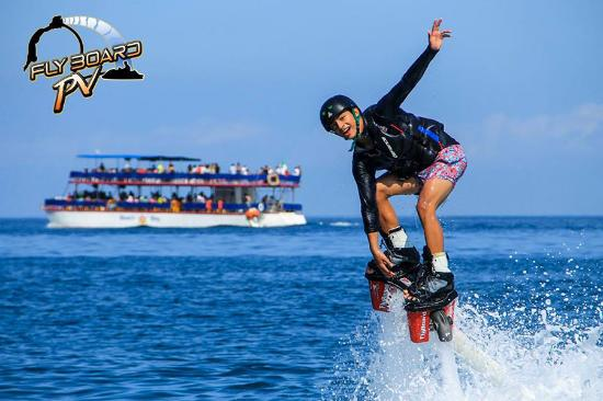 Flyboard PV: Flyboard Beach Activity in Mexico