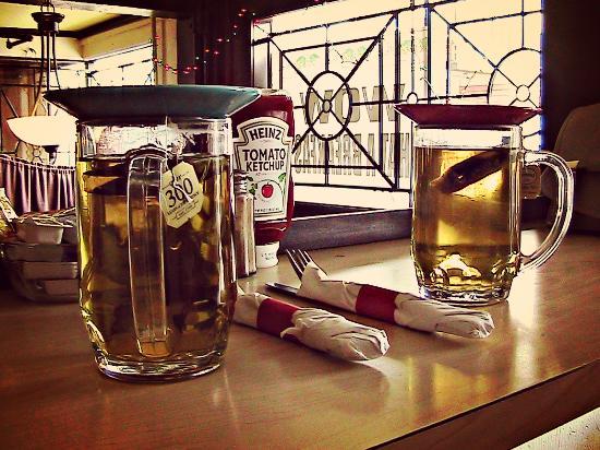 Park & Main Cafe: Tea