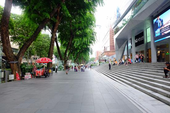how to go to orchard road singapore