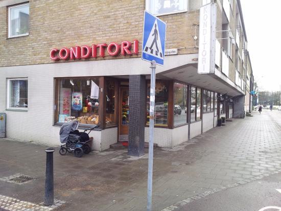 Ландскрона, Швеция: Lorry har besökare i alla åldrar.
