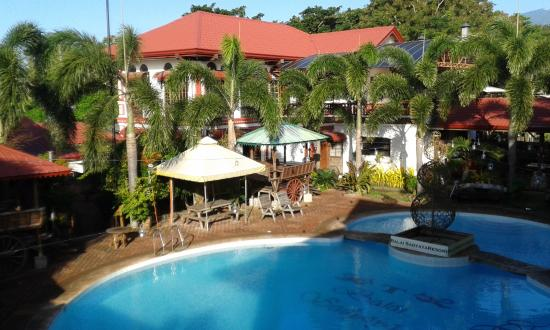 Sariaya, Filippinerne: Pool taken from my room -