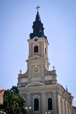 Oradea, Rumunia: The Church with Moon