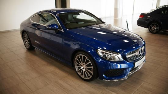 new c class coupe in stunning blue picture of mercedes benz world rh tripadvisor co uk