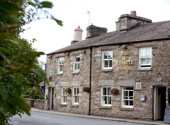 The Pig and Whistle: Pig & Wiistle Cartmel