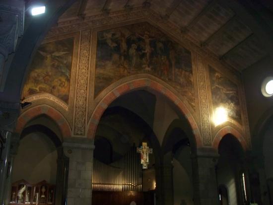 Chiesa di San Gregorio: interno chiesa