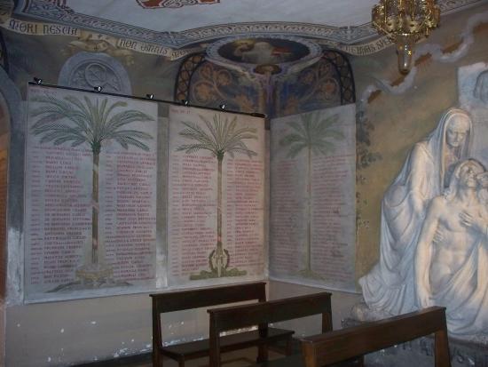 Chiesa di San Gregorio: cappella