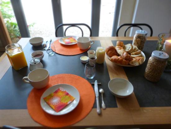 La Maison du Cremant: votre petit déjeuner