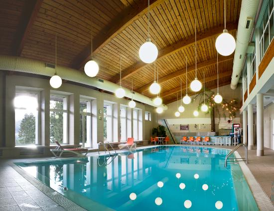 Hotel Stupka: Swimming pool with salt water