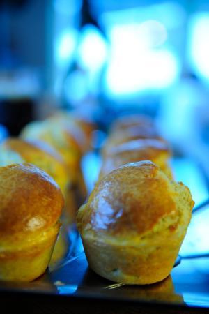 Millesgarden Lanthandel: Nybakade scones på Lanthandeln
