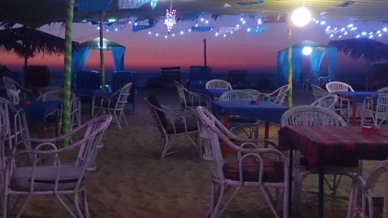 Aggie's Cafe: Sun set@ aggiescafe GOA