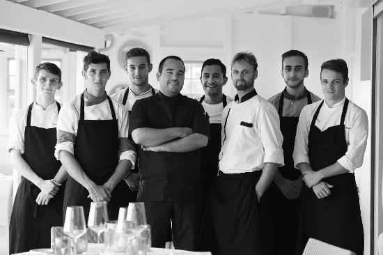 Hotel Le Toiny Restaurant: Hotel Le Toiny St Barth Restaurant