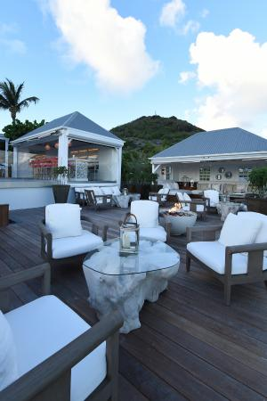 Hotel Le Toiny Restaurant: Hotel Le Toiny St Barth Restaurant