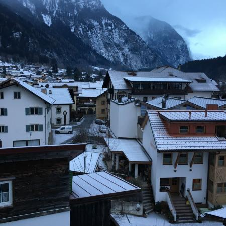 Alpenhotel Oetz: Ausblick vom Balkon