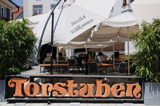 Tettnang, Tyskland: Gartenterrasse
