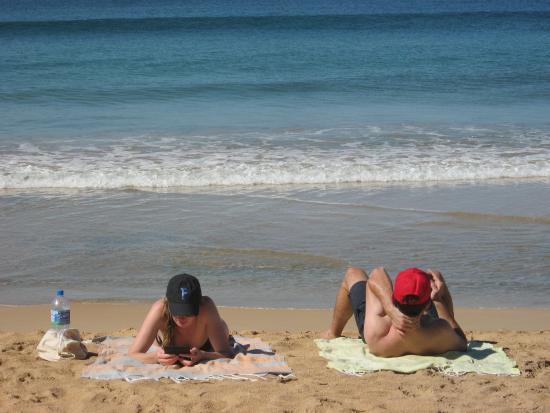 Arcade Beach Hotel: Relaxing