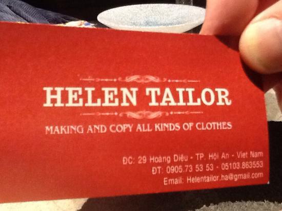 Helen Tailor Photo