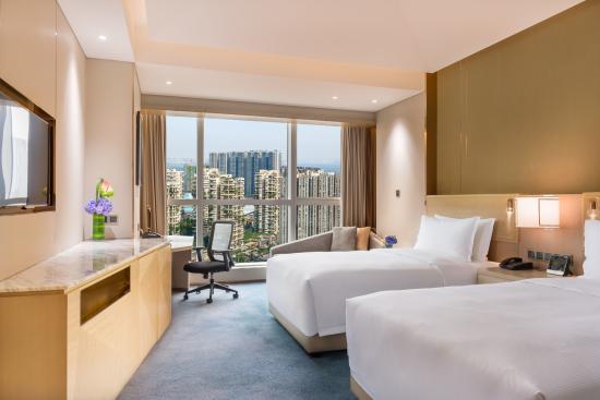 Hilton Chengdu: Hilton Twin Room 希尔顿双床房