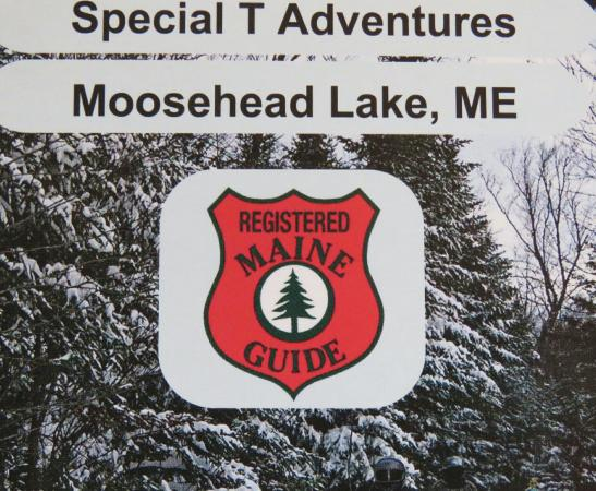 Winter getaways in Greenville Maine. Private tours headed out for a sightseeing snowmobile tour.
