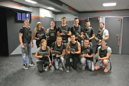 Laser Game Evolution Saint Nazaire: de 6 à 30 joueurs simultanément
